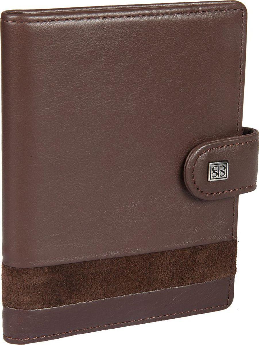 Обложка для автодокументов мужская Sergio Belotti, цвет: коричневый. 24652465 novara cioccolatoОбложка для автодокументов мужская Sergio Belotti выполнена из натуральной кожи. Модель закрывается клапаном на кнопке, внутри блок прозрачных файлов(шесть листов, один из них формата А5), для автодокументов (водительского удостоверениятехпаспорта, талон ТО, доверенности и т.п.), четыре кармашка для пластиковых карт, отделение для sim-карты, два потайных кармашка. Один из которых с прозрачной пластиковой вставкой.