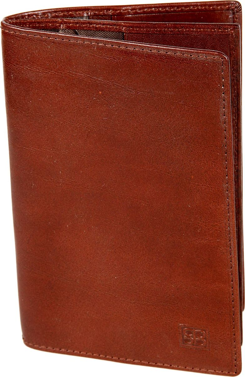 Обложка для документов мужская Sergio Belotti, цвет: коричневый. 1424A52_108Обложка для документов мужская Sergio Belotti выполнена из натуральной кожи. Модель раскладывается пополам, внутри блок прозрачных файлов, состоит из шести листов (один из них формата А5),для автодокументов, водительского удостоверения, техпаспорта, талон ТО, доверенности и т.п., также отделение для паспорта, семь кармашков для пластиковых карт (один из них сетчатый), потайной кармашек для документов.