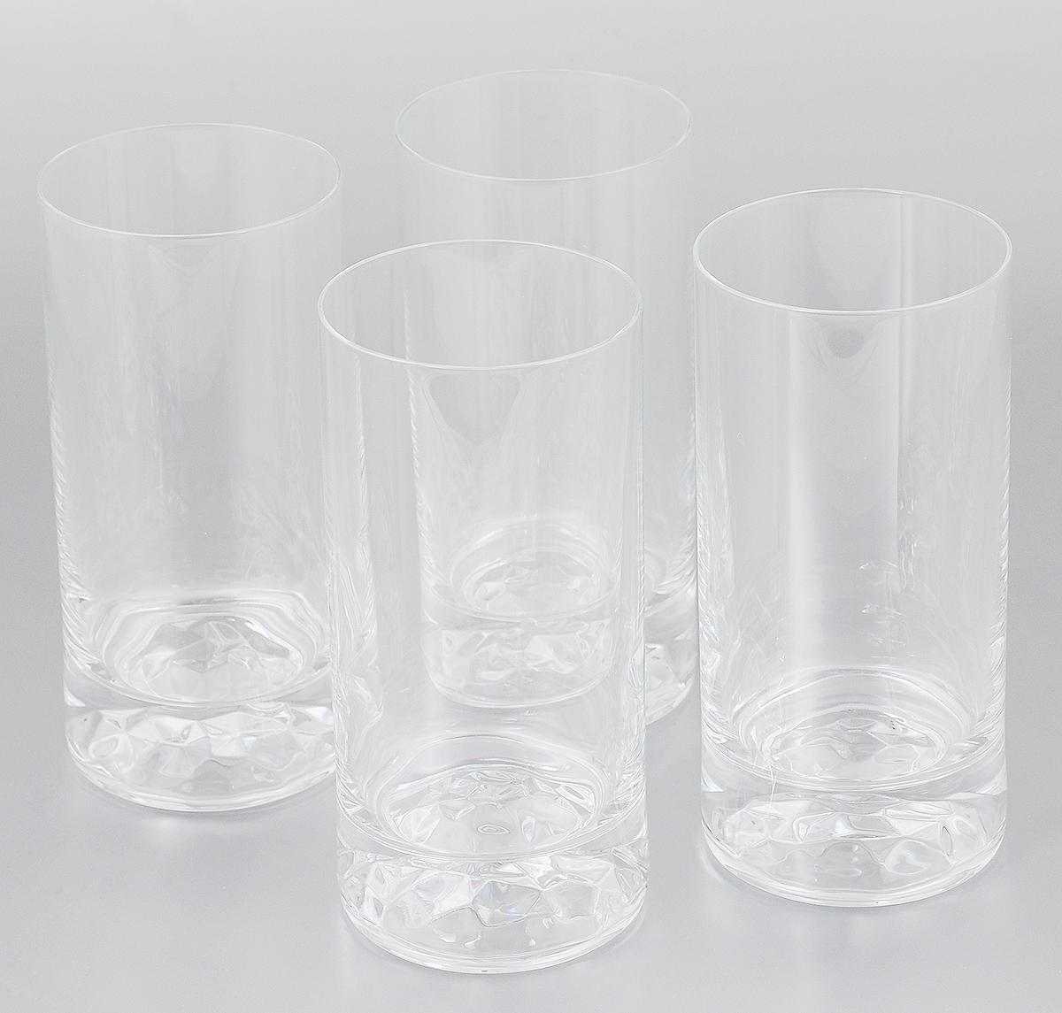Набор стаканов Pasabahce Club, 420 мл, 4 штVT-1520(SR)Набор Pasabahce Club состоит из 4 высоких стаканов, выполненных из бессвинцового стекла. Стильный лаконичный дизайн, роскошный внешний вид и несравненное качество сделают их великолепным украшением стола. Подходят для мытья в посудомоечной машине. Диаметр (по верхнему краю): 7 см. Высота стакана: 15 см.