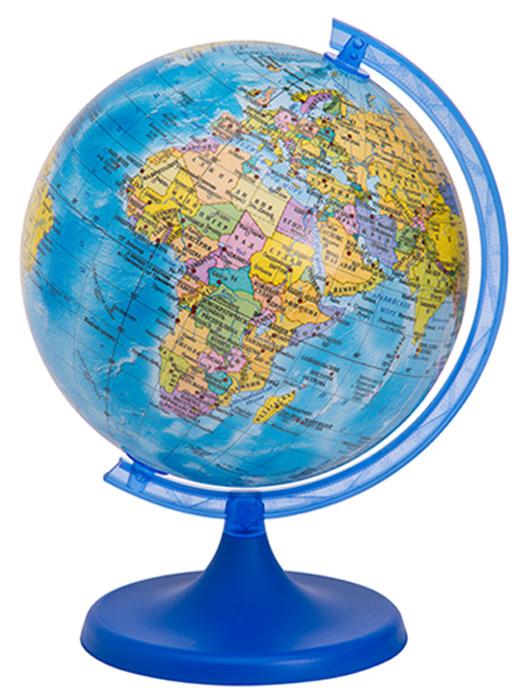 Глобус DMB, c политической картой мира, диаметр 25 см + Мини-энциклопедия Страны МираFS-00897Политический глобус DMB, изготовленный из высококачественногопрочного пластика, дает представление о политическом устройстве мира.Изделие расположено на подставке. Все страны мира раскрашены в разныецвета. На политическом глобусе показаны границы государств, столицы икрупные населенные пункты, а также картографические линии: параллели имеридианы, линия перемены дат. Названия стран на глобусе приведены нарусском языке. Ничто так не обеспечивает всестороннего и детальногоизучения политического устройства мира в таком сжатом и объемном образе,как политический глобус. Сделайте первый шаг в стимулирование своегообучения! К глобусу прилагается мини-энциклопедия Страны Мира с краткимописанием всех стран. Настольный глобус DMB станет оригинальным украшением рабочегостола или вашего кабинета. Это изысканная вещь для стильного интерьера,которая станет прекрасным подарком для современного преуспевающегочеловека, следующего последним тенденциям моды и стремящегося кэлегантности и комфорту в каждой детали.Высота глобуса с подставкой: 40 см.Диаметр глобуса: 25 см.Масштаб: 1:50 000 000.
