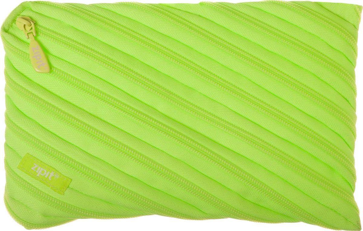 Zipit Пенал Neon Jumbo Pouch цвет лайм72523WDОригинальный пенал Zipit Neon Jumbo Pouch изготовлен из одной длинной застежки-молнии. Он удобен для разных мелочей и пишущих принадлежностей.