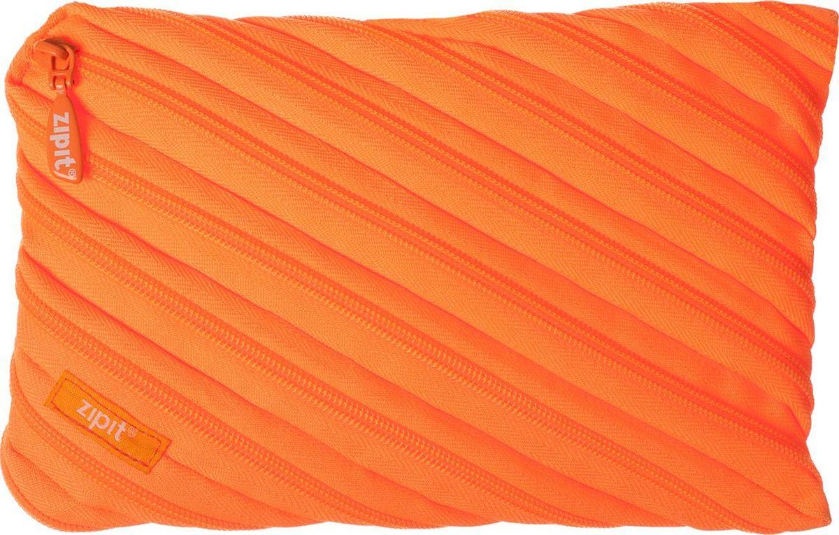 Zipit Пенал Neon Jumbo Pouch цвет оранжевый72523WDОригинальный пенал Zipit Neon Jumbo Pouch изготовлен из одной длинной застежки-молнии. Он удобен для разных мелочей и пишущих принадлежностей.