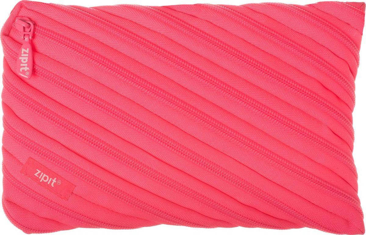 Zipit Пенал Neon Jumbo Pouch цвет розовый72523WDОригинальный пенал Zipit Neon Jumbo Pouch изготовлен из одной длинной застежки-молнии. Он удобен для разных мелочей и пишущих принадлежностей.
