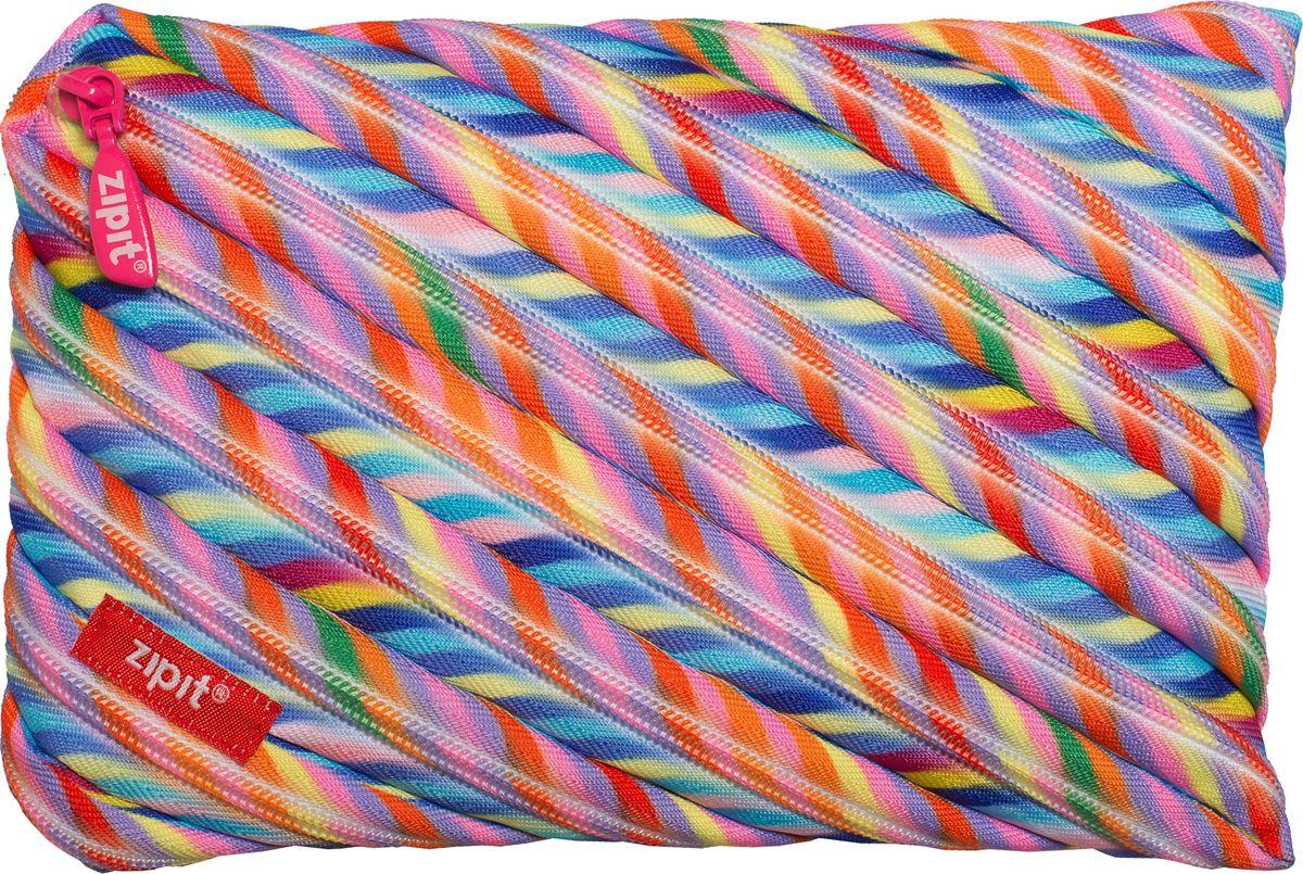Zipit Пенал Colors Jumbo Pouch цвет мультиколор72523WDЯркий пенал Zipit Colors Jumbo Pouch изготовлен из одной длинной застежки-молнии и оформлен оригинальным принтом. Он удобен для разных мелочей и пишущих принадлежностей.