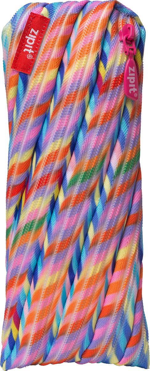 Zipit Пенал Colors Pouch цвет мультиколор ZT-CZ-STRIZT-CZ-STRIЯркий пенал Zipit Colors Pouch изготовлен из одной длинной застежки-молнии и оформлен принтом в виде разноцветных полосок. Он удобен для разных мелочей и пишущих принадлежностей.