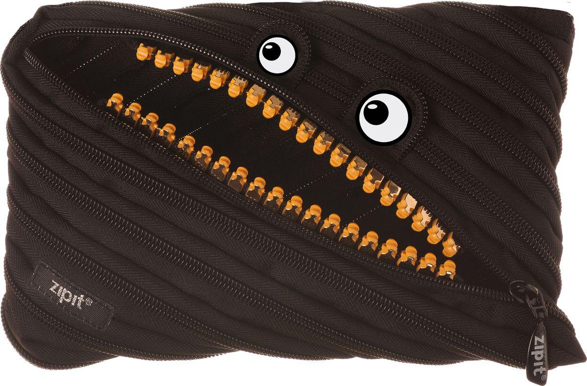 Zipit Пенал Grillz Jumbo Pouch цвет черный72523WDНеобычный пенал Zipit Grillz Jumbo Pouch изготовлен из одной длинной застежки-молнии. Он удобен для разных мелочей и пишущих принадлежностей. Особенности пенала - зубки и глазки. Его обладатель всегда будет в хорошем настроении!
