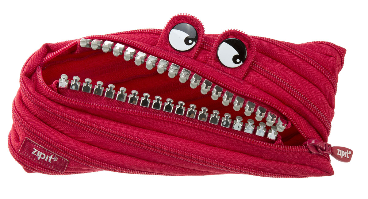 Zipit Пенал Grillz Pouch цвет красный72523WDНеобычный пенал Zipit Grillz Pouch изготовлен из одной длинной застежки-молнии. Он удобен для разных мелочей и пишущих принадлежностей. Особенности пенала - зубки и глазки. Его обладатель всегда будет в хорошем настроении!