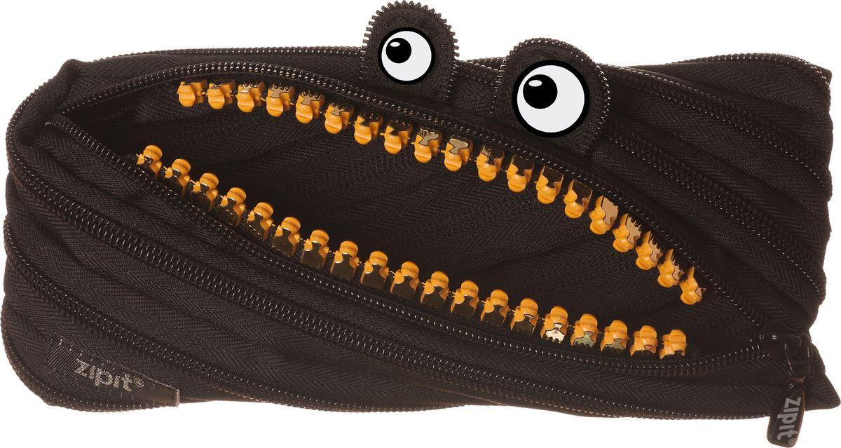 Zipit Пенал Grillz Pouch цвет черный72523WDНеобычный пенал Zipit Grillz Pouch изготовлен из одной длинной застежки-молнии. Он удобен для разных мелочей и пишущих принадлежностей. Особенности пенала - зубки и глазки. Его обладатель всегда будет в хорошем настроении!