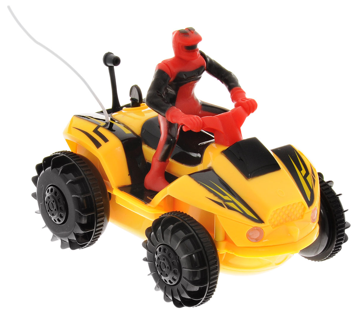 Pilotage Квадроцикл на радиоуправлении цвет желтый - Радиоуправляемые игрушки