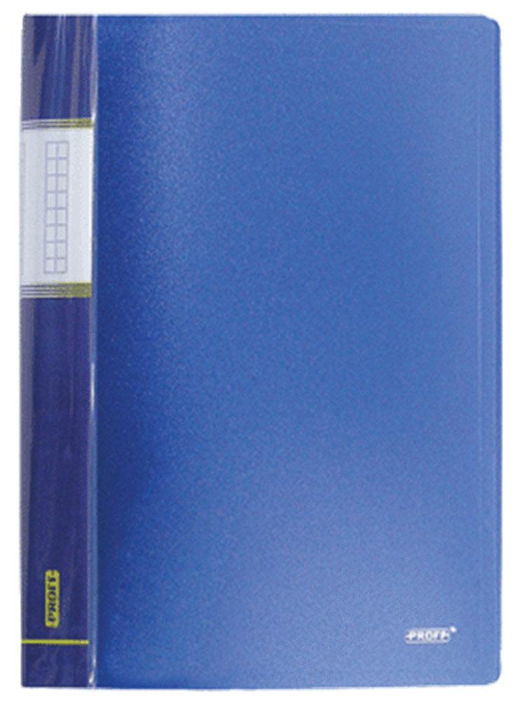 Proff Папка Next на 10 файлов цвет синийCH510A/20-TF-04Папка с файлами Proff Next - это удобный и практичный офисный инструмент,предназначенный для хранения и транспортировки рабочих бумаг и документовформата А4. Обложка выполнена из плотного полипропилена. Папка включает в себя 10 прозрачных файлов формата А4.Папка с файлами - это незаменимый атрибут для студента, школьника, офисного работника. Такая папка надежно сохранит ваши документы и сбережет их от повреждений, пыли и влаги.