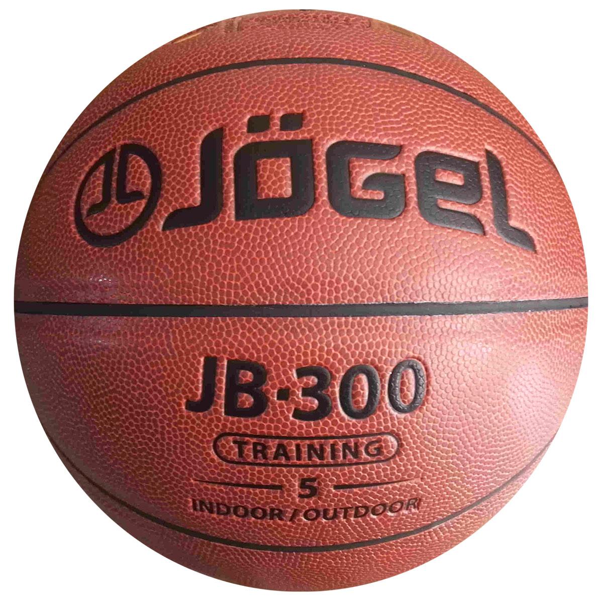 """Мяч баскетбольный """"Jogel"""", цвет: коричневый. Размер 5. JB-300"""
