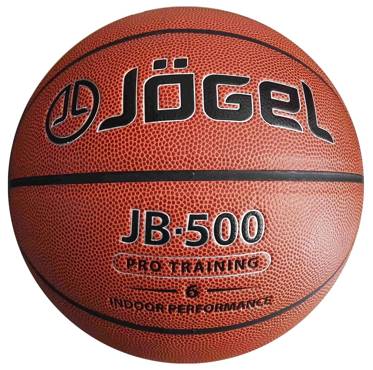 Мяч баскетбольный Jogel, цвет: коричневый. Размер 6. JB-500УТ-00009329Название:Мяч баскетбольный Jgel JB-500 №6Уровень:Тренировочно-игровой мячСерия: PRO TRAININGКатегория: INDOORОписание:Jogel JB-500 №6 . Благодаря технологии DeepChannel (глубокие каналы), используемой при производстве мячей Jogel, достигается лучший контроля мяча во время броска и дриблинга. Размер №6 предназначается для женщин и юношей от 12 до 16 лет. Данный мяч рекомендован для тренировок команд среднего и высокого уровня, а также соревнований любительских и средних команд.Данный мяч прекрасно подходит для поставок на гос. тендеры, образовательные учреждения и спортивные секции. Официальный размер и вес FIBA.Рекомендованные покрытия: ПаркетМатериал поверхности:Синтетическая кожа (полиуретан)Материал камеры:БутилТип соединения панелей:КлееныйКоличество панелей:8Размер:6Вес:510-567 гр.Длина окружности: 72-74 смРекомендованное давление: 0.5-0.6 барКоличество в коробке: 24 шт.Основной цвет:КоричневыйДополнительный цвет:ЧерныйБренд: JogelСтрана бренда:ГерманияПроизводство:КНР