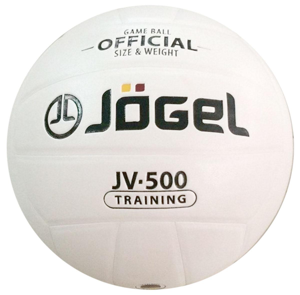 Мяч волейбольный Jogel, цвет: белый. Размер 5. JV-500УТ-00009342Клееный волейбольный мяч Jogel хорошо подойдет для любительской игры и тренировок. Покрышка мяча выполнена из синтетической кожи (полиуретан), которая обладает хорошей износостойкостью и отличными игровыми характеристиками.Мяч состоит из 18 склеенных панелей. Мяч оснащен камерой из бутила и армирован подкладочным слоем из ткани. Вес: 260-280 гр.Длина окружности: 65-67 см.Рекомендованное давление: 0.29-0.32 бар. УВАЖАЕМЫЕ КЛИЕНТЫ!Обращаем ваше внимание на тот факт, что мяч поставляется в сдутом виде. Насос в комплект не входит.