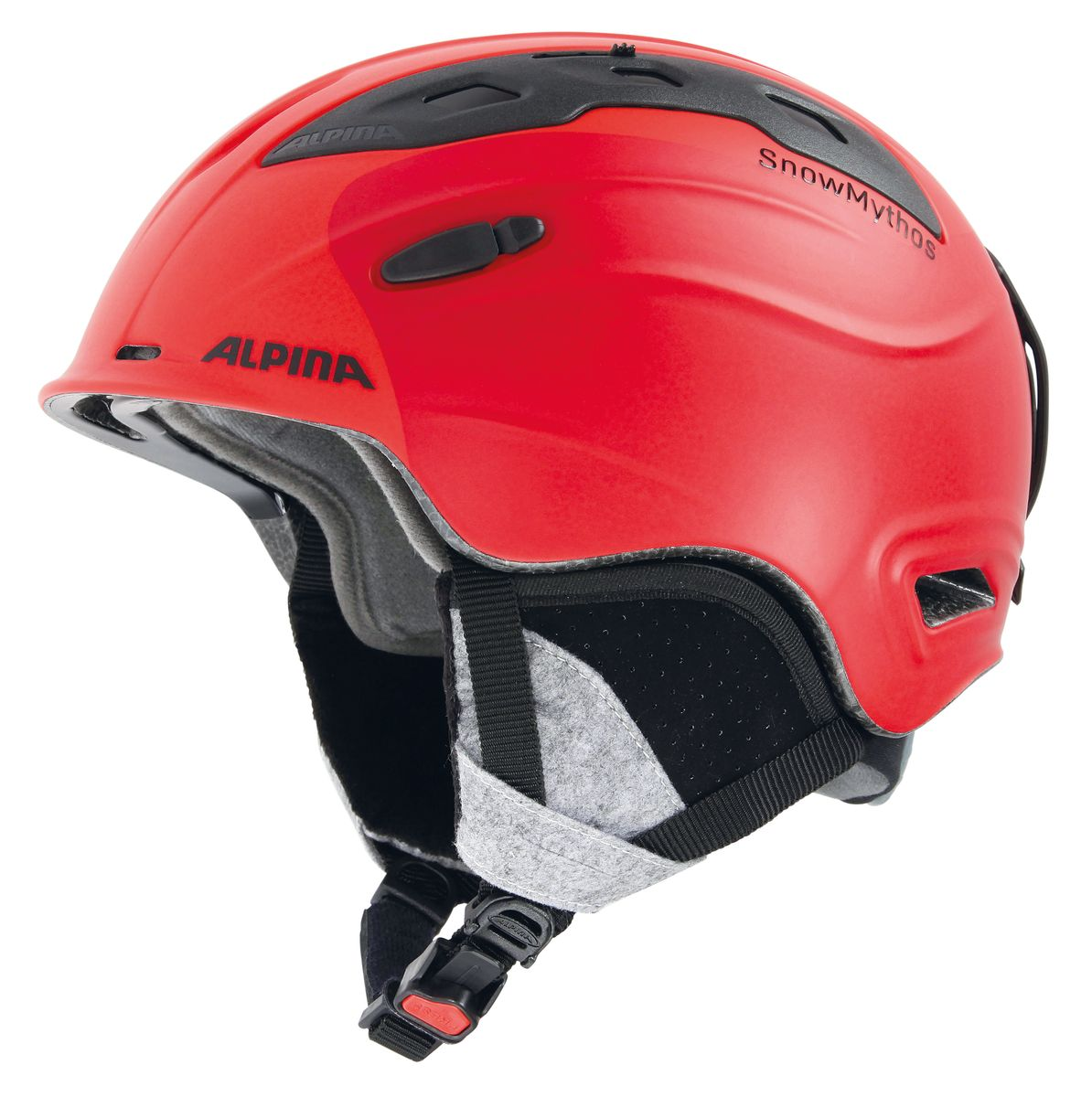 Шлем зимний Alpina  Snowmythos , цвет: зеленый. Размер 55-59 - Горные лыжи
