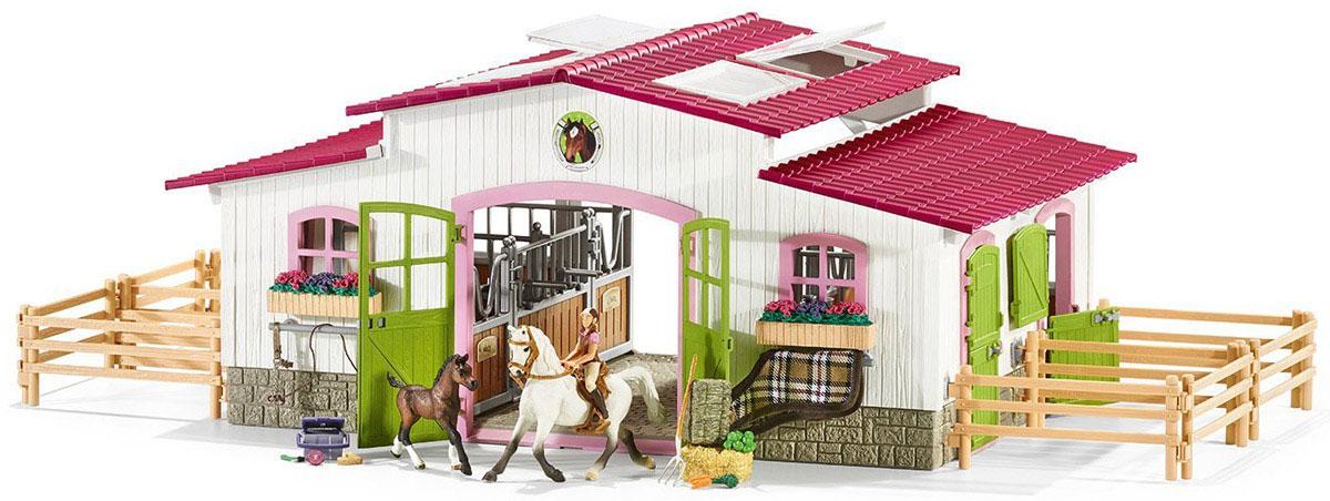 Schleich Игровой набор Центр верховой езды с лошадьми schleich schleich ковбойский набор для верховой езды серия ферма