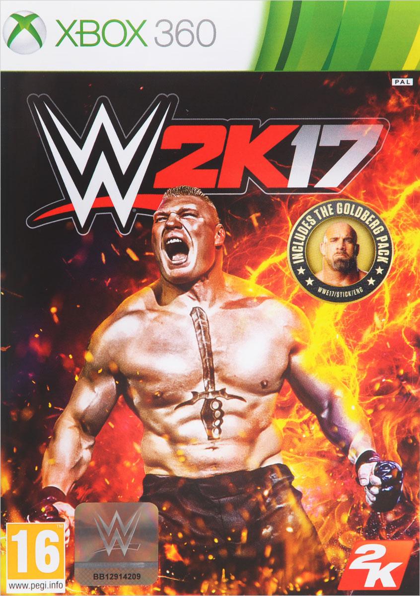 купить WWE 2K17 (Xbox 360) онлайн
