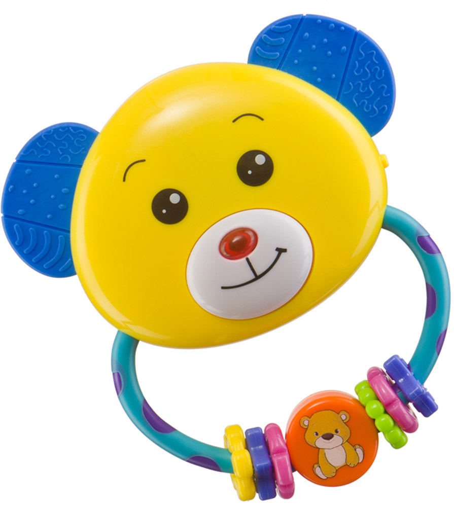 Happy Baby Погремушка-прорезыватель Umkas happy baby погремушка прорезыватель музыкальная от 3 мес