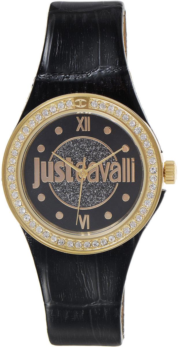 Наручные часы женские Just Cavalli Just Shade, цвет: черный. R7251201501BM8241-01EEСтильные женские часы Just Cavalli изготовлены из нержавеющей стали. Кожаный ремешок оснащен классической застежкой-пряжкой. Точный кварцевый механизм имеет степень влагозащиты равную 3 Bar и дополнен часовой, минутной и секундной стрелками. Корпус украшен кристаллами. Для того чтобы защитить циферблат от повреждений в часах используется высокопрочное минеральное стекло. Изделие упаковано в фирменную коробку. Часы Just Cavalli отличаются современным уникальным дизайном, идеальными пропорциями в сочетании с прекрасными материалами и техническими характеристиками.