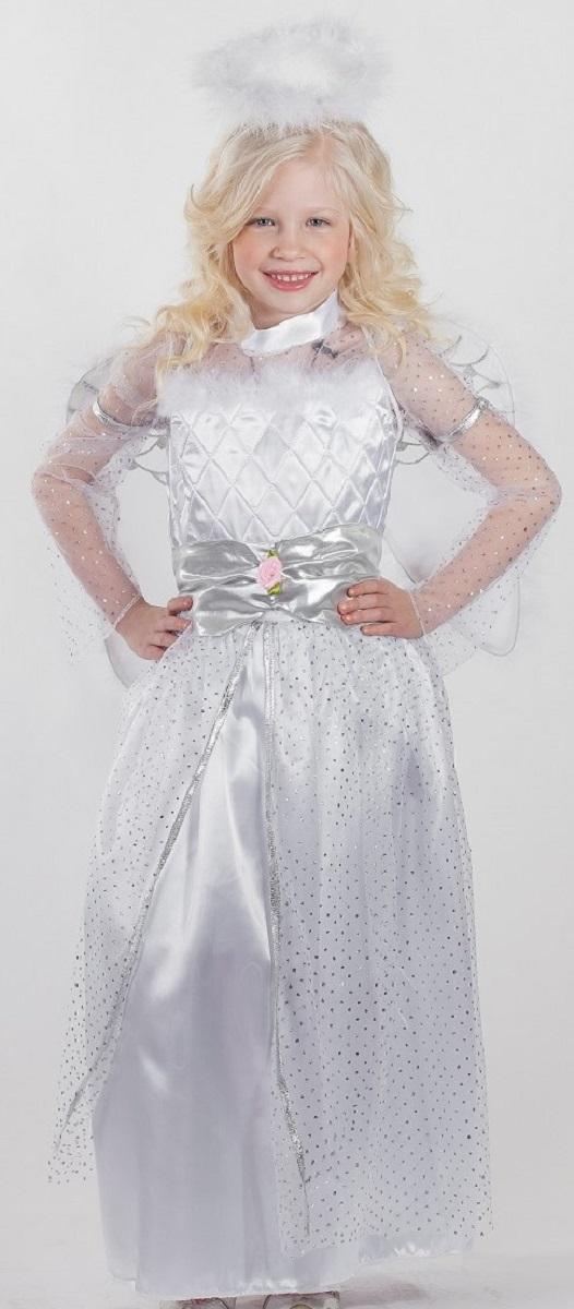 Карнавалия Карнавальный костюм для девочки Ангел размер 134 - Карнавальные костюмы и аксессуары