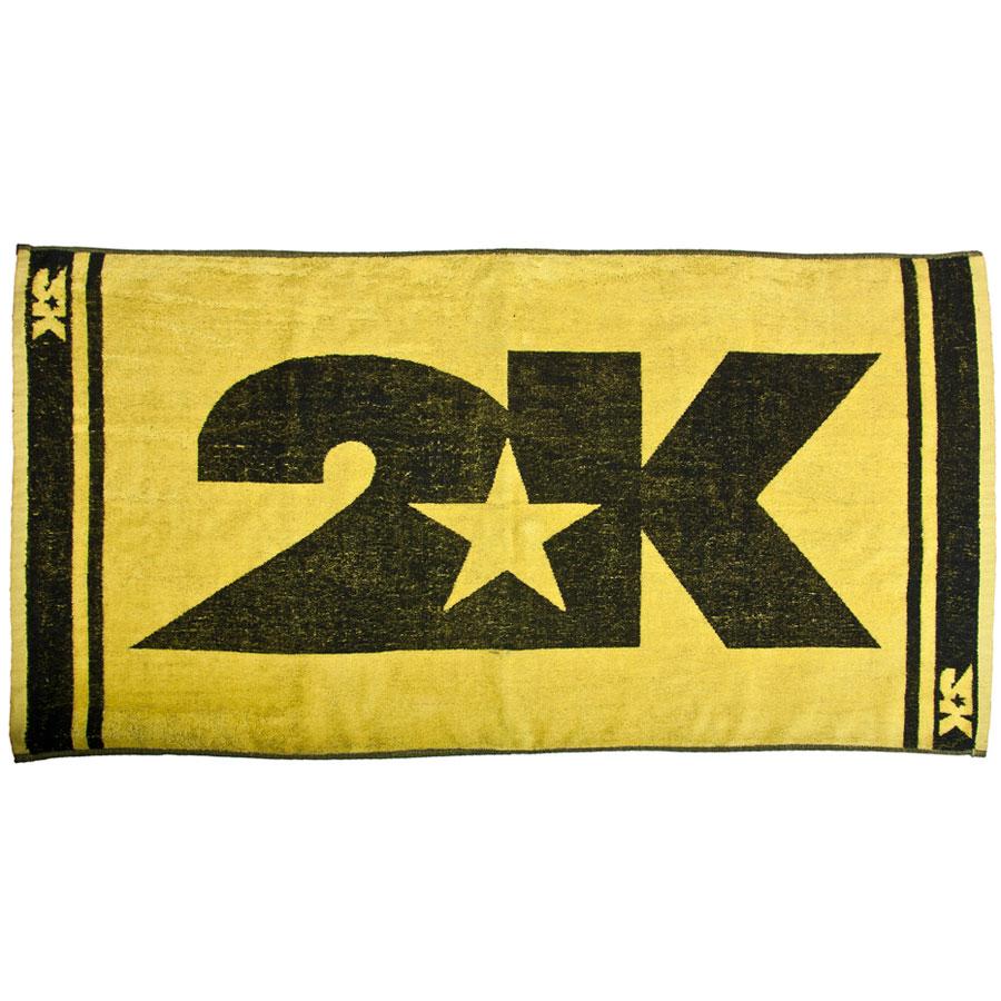 Полотенце 2K Sport Barri, цвет: желтый, черный, 60 х 120 смKOC2028LEDМягкое полотенце 2K Sport Barri незаменимо для спортсменов и людей, ведущих активный образ жизни. Им можно вытираться после тренировок, соревнований, пробежек. Полотенце выполнено из высококачественного хлопка. Оно прочное и отлично впитывает влагу.