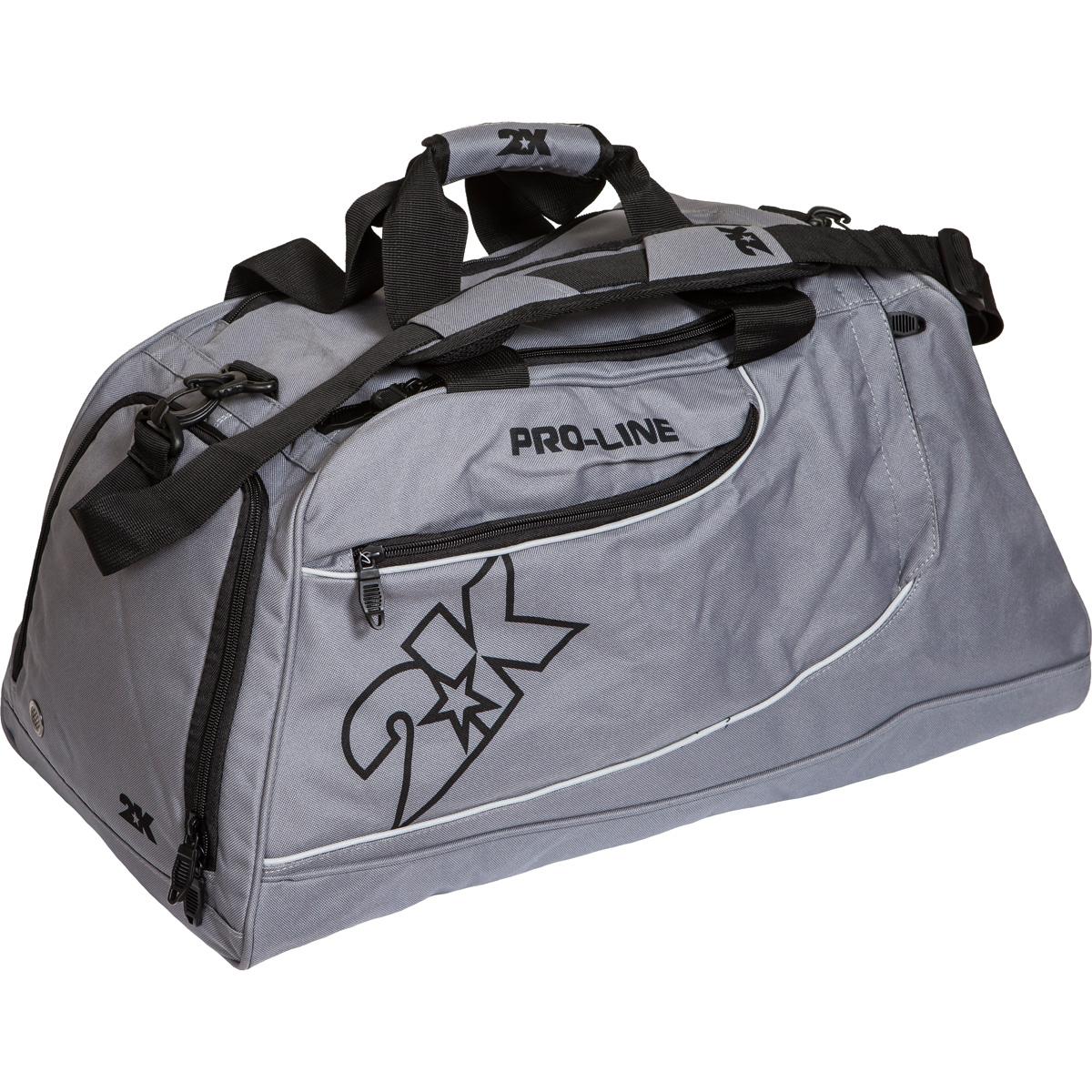 Сумка спортивная 2K Sport Manado, цвет: серый. 128121128121-greyСпортивная сумка 2K Sport Manado очень удобна для занятий спортом. Ее можно переносить в руке и на плече. Имеет 3 внешних кармана на молниях.. Отстегивающийся ремень.Размер: 60 х 30 х 33 см.