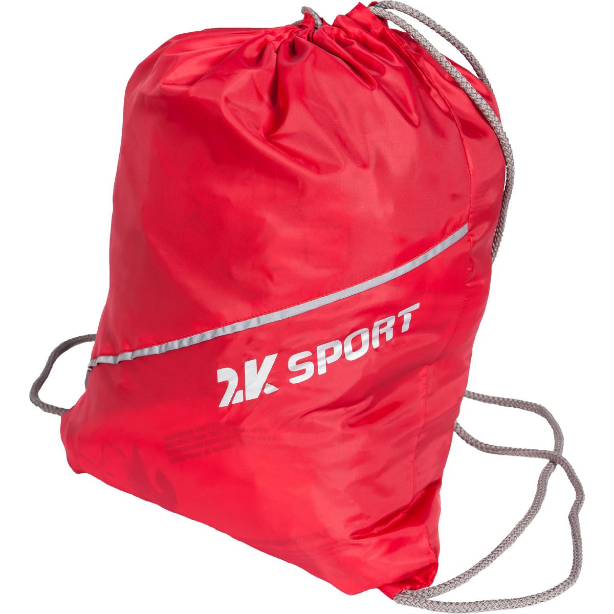 Сумка-мешок для обуви 2K Sport Team, цвет: красный10130-11Мешок для обуви 2K Sport Team изготовлен из высококачественного прочного текстиля. Мешок имеет одно отделение, закрывающееся стягивающимся шнуром. Плотная прочная ткань надежно защитит обувь от непогоды, а удобные петли шнура позволят носить мешок как в руках, так и за спиной.