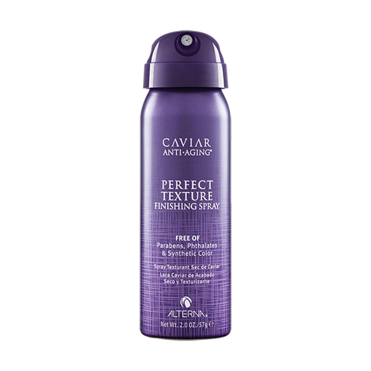 Alterna Caviar Anti-Aging Perfect Texture Finishing Spray - Спрей Идеальная текстура волос 50 млFS-00897Спрей «Идеальная текстура волос» - это сочетание сухого шампуня и лака для волос. Этот спрей создает объем, форму и текстуру, не оставляя белых следов, как сухой шампунь и не утяжеляя, как лак для волос. Его можно использовать на всех типах волос дома или после сушки феном, чтобы добавить объем и текстуру волосам.Преимущества: Дает ощущение легких, чистых, не склеенных волос. Не оставляет белых следов и не утяжеляет. Можно наносить как немного продукта, так и больше без утяжеления и ощущения «липких» волос . Не спутывает волосы.Результат: умопомрачительная текстура, создает объем и плотность. Волосы приобретают трёхмерную текстуру, форму и остаются естественно подвижными.Спрей «Идеальная текстура волос» - это сочетание сухого шампуня и лака для волос. Этот спрей создает объем, форму и текстуру, не оставляя белых следов, как сухой шампунь и не утяжеляя, как лак для волос. Его можно использовать на всех типах волос дома или после сушки феном, чтобы добавить объем и текстуру волосам.