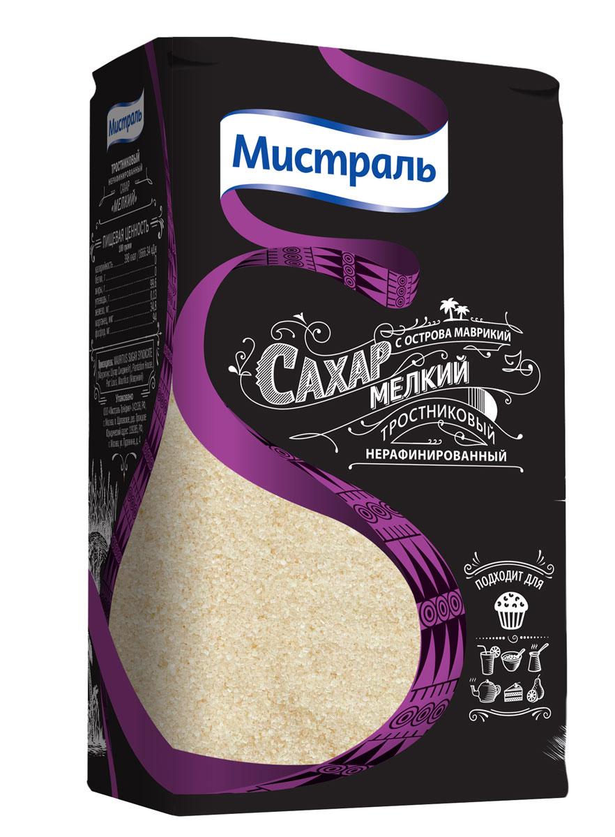 Мистраль Сахар коричневый Мелкий, 1 кг0120710Нерафинированный сахар получают путем выпаривания из свежевыжатого сока сахарного тростника, насыщенного патокой. Богатая полезными веществами тростниковая патока придает сахару золотистый цвет и карамельный аромат. При росте сахарных кристаллов полезная патока концентрируется в верхних слоях, обволакивая прозрачную молекулу сахарозы. Благодаря этому сахарные кристаллы имеют насыщенный золотистый цвет, а при погружении в жидкость тростниковая патока растворяется первой.