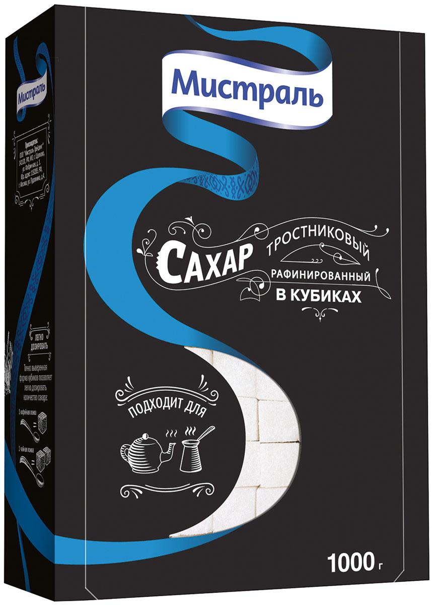 Мистраль Сахар рафинированный тростниковый в кубиках, 1 кг вкуснотеево молоко ультрапастеризованное 1 5% 950 г