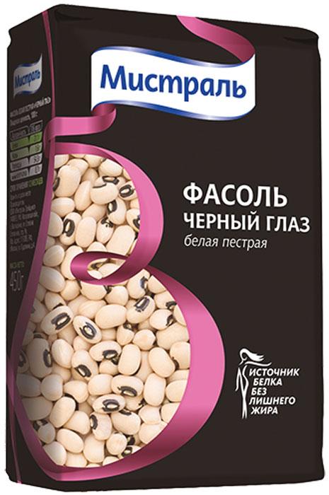 Мистраль Фасоль белая пестрая Черный глаз, 450 г0120710Фасоль белая пестрая Черный глаз обладает сильным овощным ароматом, не требует замачивания, используется при приготовлении супов, салатов и в сочетании с рисом.1. Поместите промытую фасоль в кастрюлю с водой в соотношении 1:5, доведите до кипения. Варите 10 минут на сильном огне, а затем до готовности 45 минут-1 час на слабом огне. 2. Добавляйте соль в конце варки, так как она замедляет процесс приготовления.