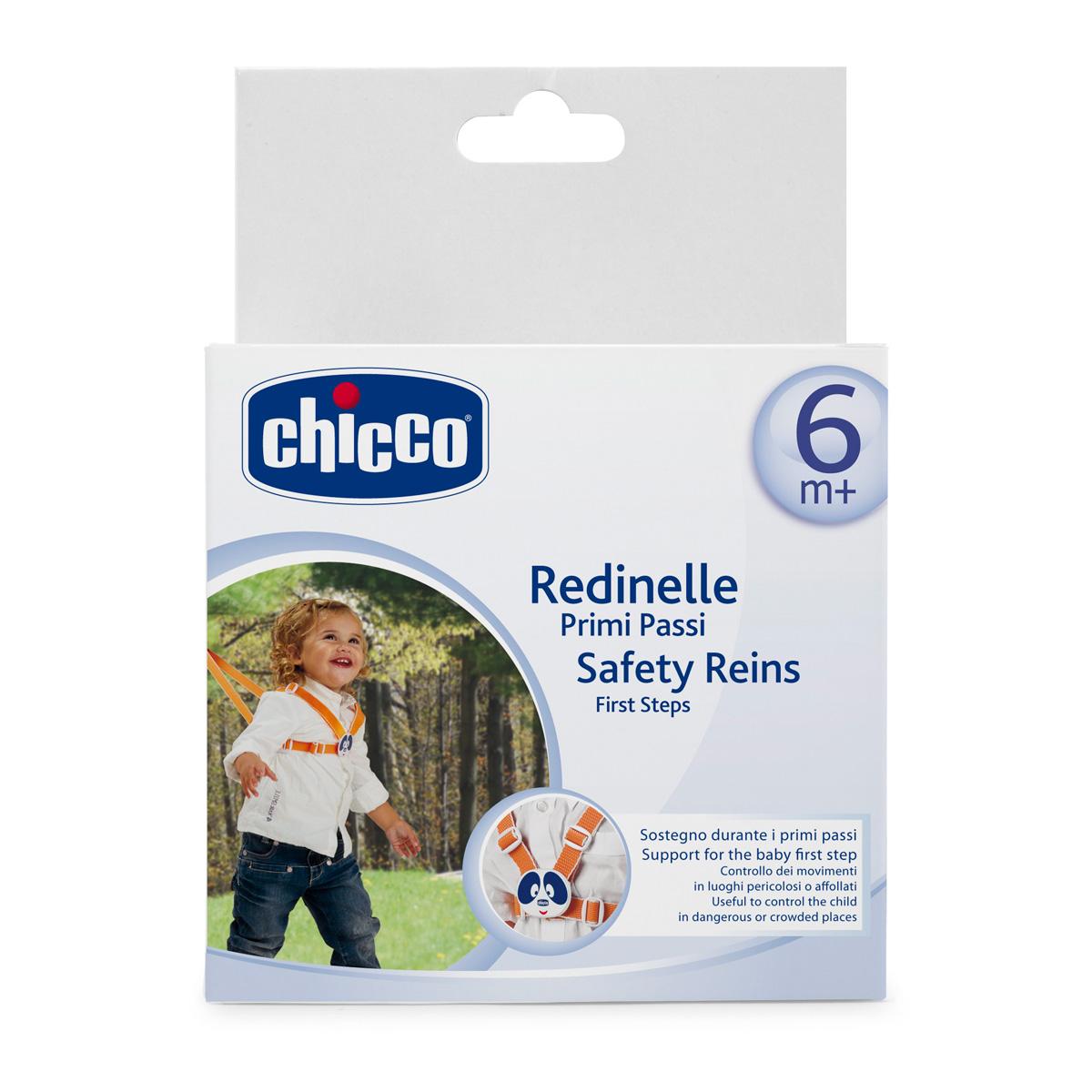 Chicco Поводок детский для первых шагов -  Прыгунки