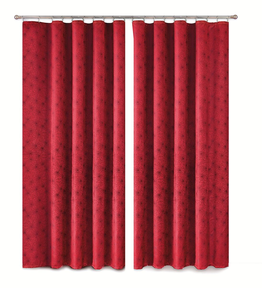 Комплект штор P Primavera Firany, цвет: бордовый, высота 280 см. 11100031110003Комплект шториз полиэстровой жаккардовой ткани с пришитой шторнойлентой. Размер - ширина 180 см высота 280см. Набор 2 штуки. Цвет бордо.Размер: ширина 180 х высота 280