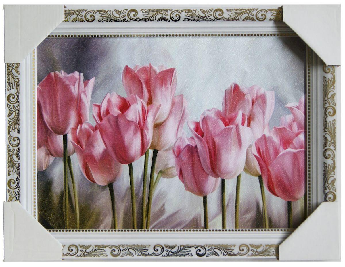 Картина в раме Proffi Home Тюльпаны, 25 х 35 см картины в квартиру картина etude 2 102х130 см