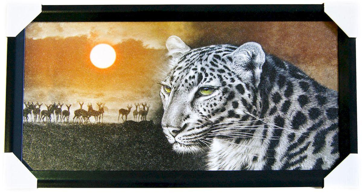 Картина в раме Proffi Home Сафари, 33 х 70 см12723Картина Proffi Home поможет украсить интерьер. Картина оформлена в красивую деревянную рамку черного цвета. Фотопечать на бумажном постере с тиснением.Металлические петли, винты для подвешивания картины в комплекте.Размер картины: 33 х 70 см.