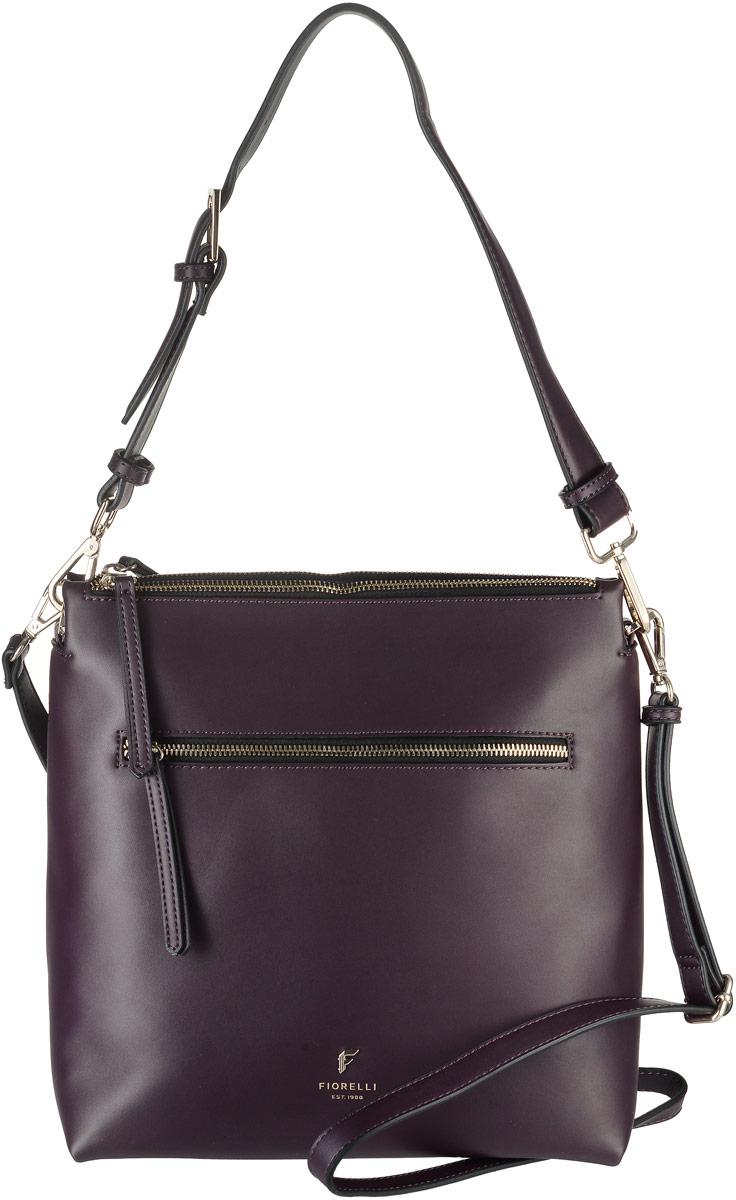 Сумка женская Fiorelli, цвет: сливовый. 8508 FH23008Стильная женская сумка Fiorelli выполнена из эко-кожи. Сумка имеет триотделения, закрывающееся на застежку-молнию и магнитный замок. Внутри находится прорезной карман на застежке-молнии и два накладных открытых кармана. Снаружи, на передней стенке размещен прорезной карман на застежке-молнии. Роскошная сумка внесет элегантные нотки в ваш образ и подчеркнет ваше отменное чувство стиля.