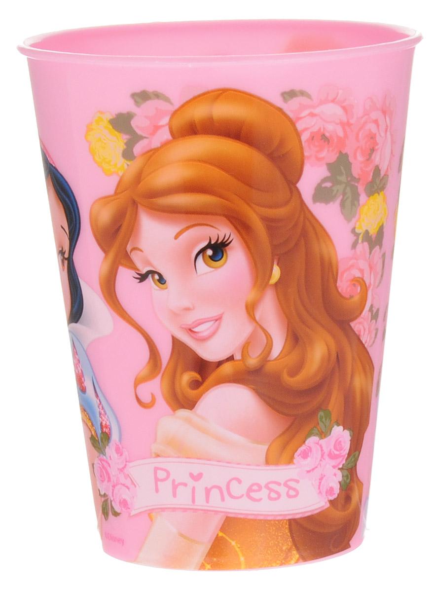 Disney Стаканчик Princess 260 мл54 009312Яркий стаканчик Disney Princess доставит вашей малышке массу удовольствия. Изготовлен стаканчик из высококачественного полипропилена розового цвета. Со стенок стакана приятно улыбаются героини любимых мультфильмов Disney. Прекрасное дополнение к праздничному столу на детской вечеринке! Такой подарок станет не только приятным, но и практичным сувениром, добавит ярких эмоций вашему ребенку!