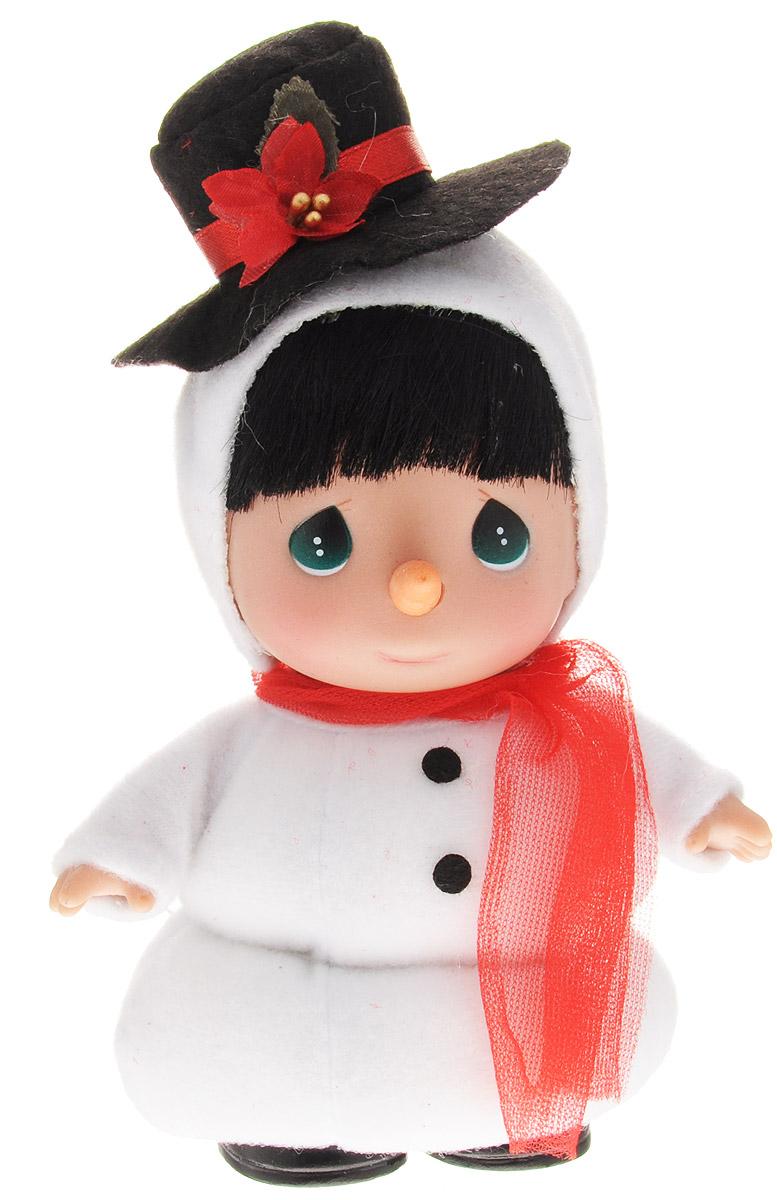 Precious Moments Мини-кукла Снеговик precious moments мини кукла пастушка цвет платья светло коралловый