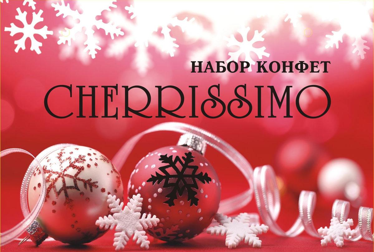 Mieszko Конфеты Черрисимо Новый год, 310 г4607039270853Шоколадные конфеты Mieszko Черриссимо. Новый год - набор шоколадных конфет с начинкой. Каждая конфетка изготовлена из натурального настоящего шоколада, с начинкой из вишни в ликере. Удобная и красочная упаковка делают эти конфеты не только прекрасным лакомством, но и отличным подарком для своих близких.Уважаемые клиенты! Обращаем ваше внимание, что полный перечень состава продукта представлен на дополнительном изображении.