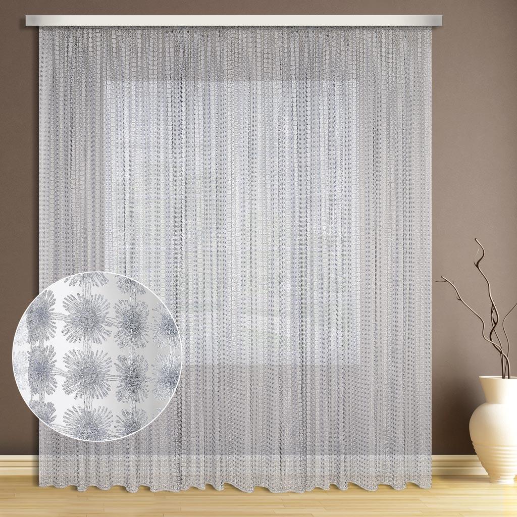 Тюль ТД Текстиль Валенсия, цвет: серый, высота 280 см333315Тюль выполнена по уникальной технологии методом плетения, для тех кто не боится экспериментировать и ищет свежих идей для обустройства своего дом