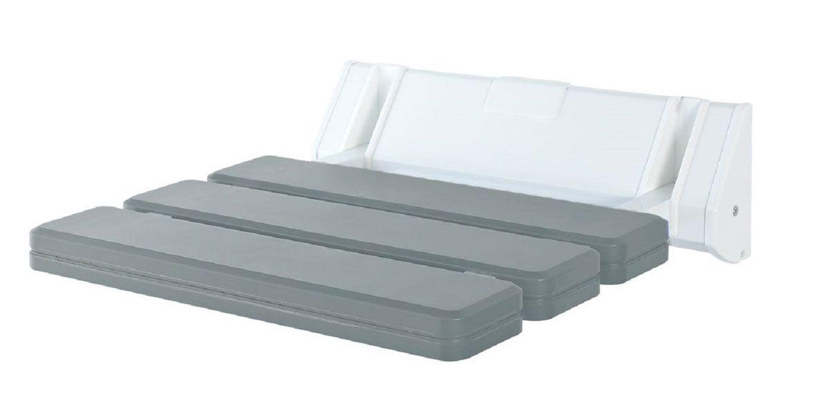 Сиденье в ванну Ridder, откидное, цвет: серый12723Сиденье в ванную Ridder создано для комфорта и безопасности, в том числе пожилых людей и лиц с ограниченными возможностями. Не содержит токсичных веществ.