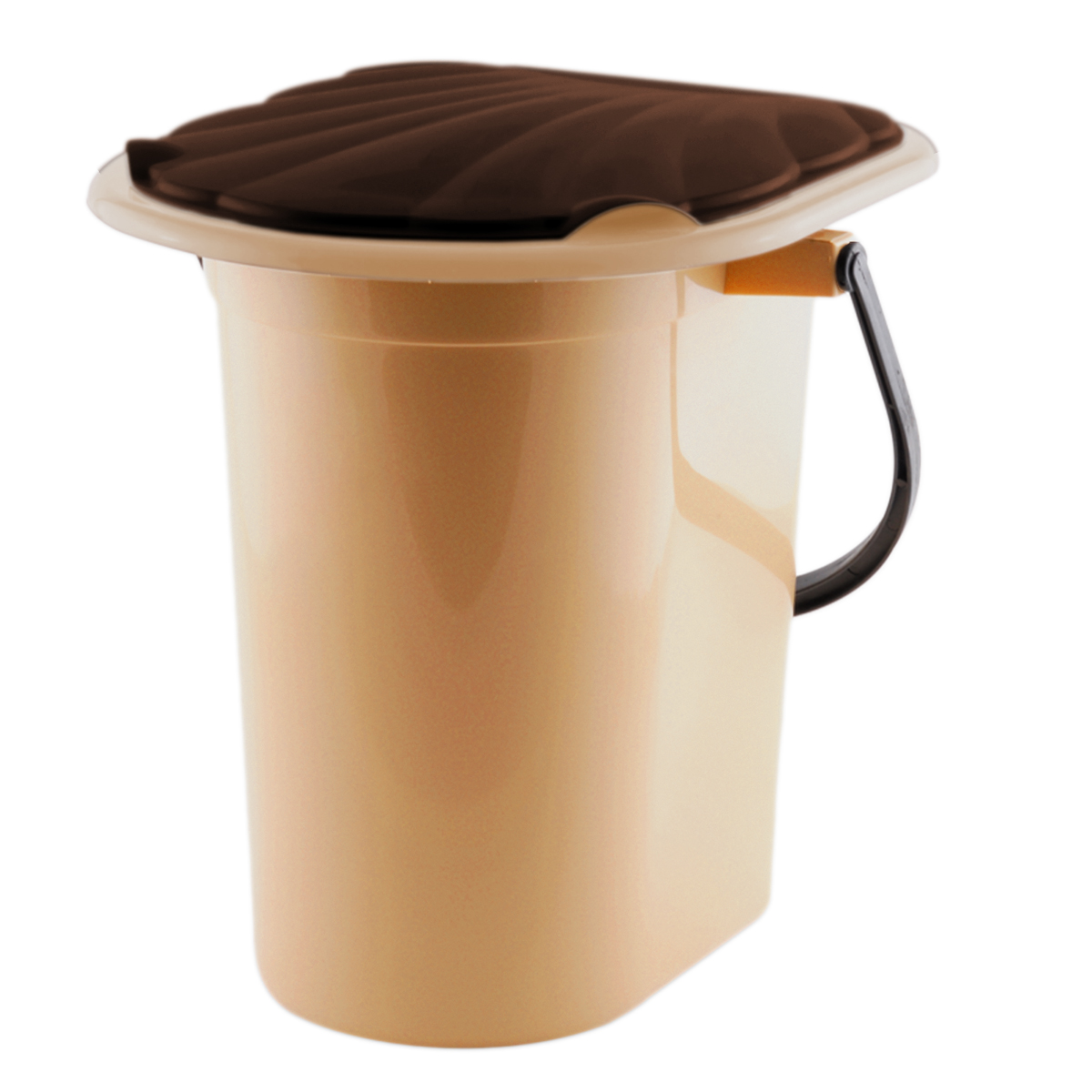Ведро-туалет  InGreen , цвет: бежевый, коричневый, 18 л - Биотуалеты и септики