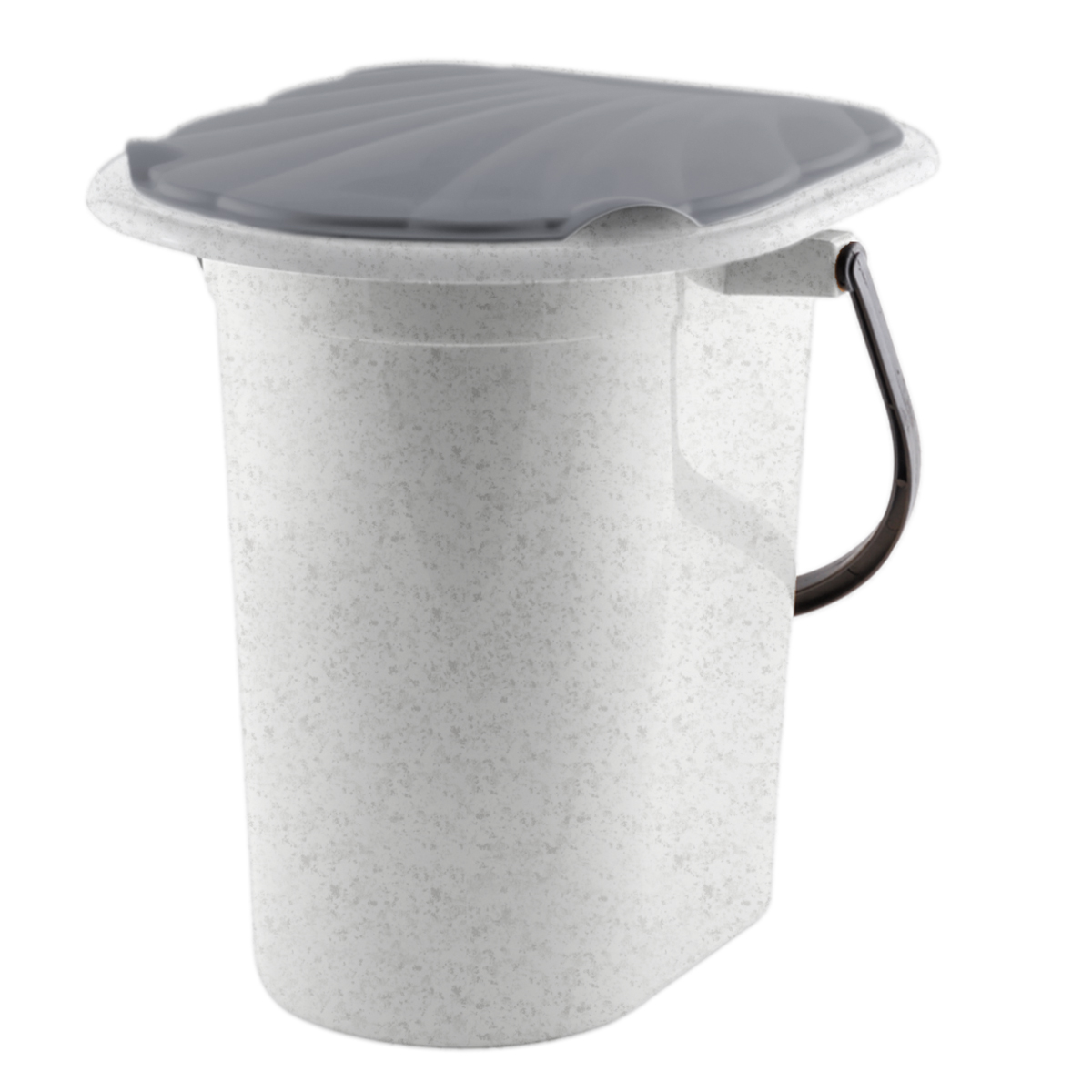 Ведро-туалет  InGreen , цвет: мраморный, серый, 18 л - Биотуалеты и септики
