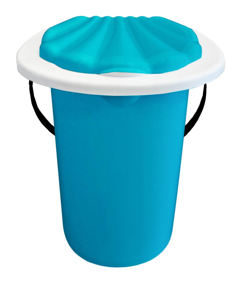 Ведро-туалет InGreen, цвет: светло-синий, 20 л531-105Ведро-туалет InGreen выполнено из пластика. Это незаменимая вещь на даче, а также для пожилых людей и людей с ограниченными возможностями. Устойчивое и высокое ведро удобно в использовании. Ведро-туалет имеет эргономичное съемное сиденье - это позволит легко его мыть и сушить отдельно. Ведро снабжено крышкой, что препятствует распространению неприятных запахов. Прочный пластик выдержит даже людей с большим весом.