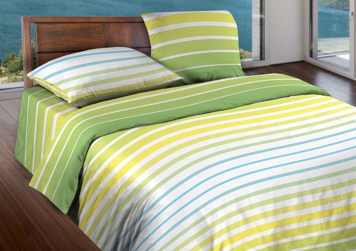 Комплект белья Wenge Stripe, 2-спальный, наволочки 70x70, цвет: желтый317224Бязевое постельное белье состоит из 100% хлопка самого простого полотняного переплетения из достаточно толстых, но мягких нитей. Стоит постельное белье из этой ткани не намного дороже поликоттона или полиэфира, но приятней на ощупь и лучше пропускают воздух. Благодаря современным технологиям окраски, простыни не теряют свой цвет даже после множества стирок. По своим свойствам бязь уступает сатину, что окупается низкой стоимостью и неприхотливостью в уходе.
