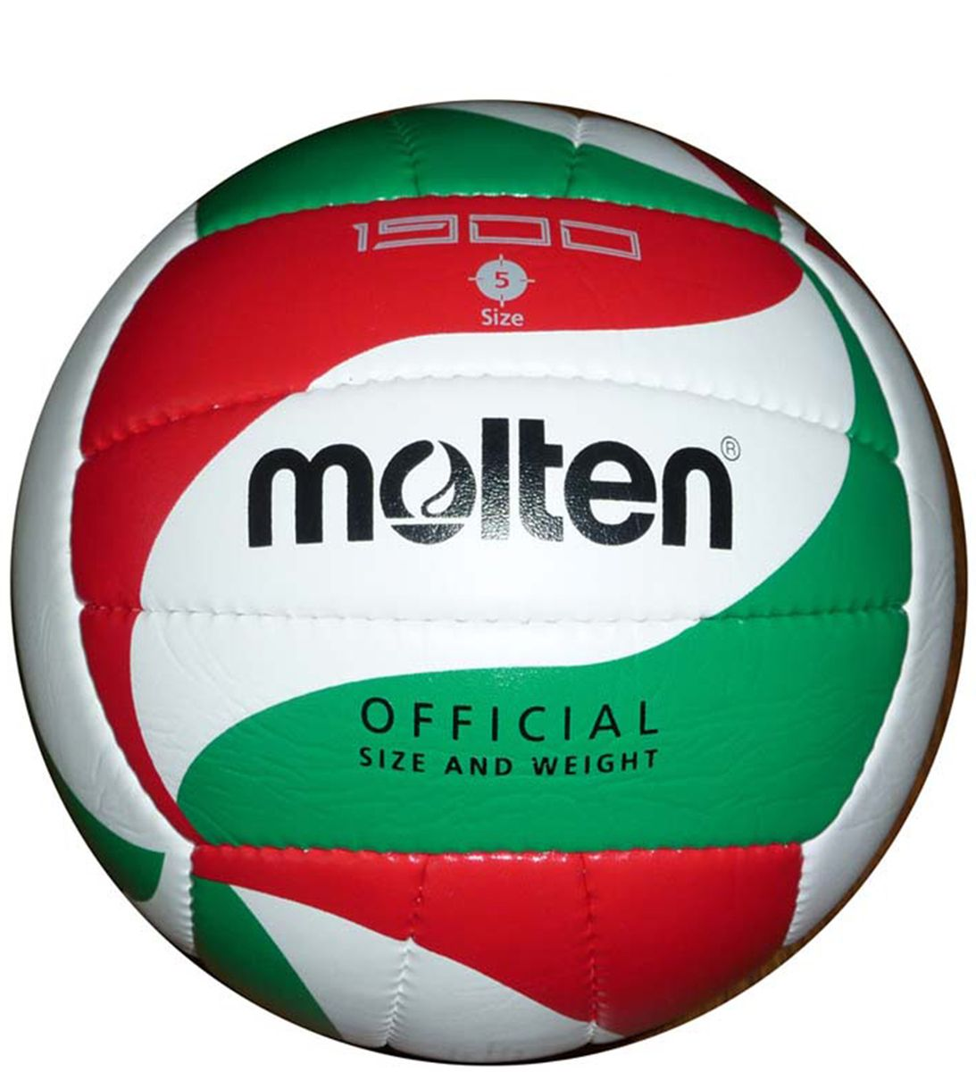Мяч волейбольный Molten. Размер 5. V5M1900V5M1900Волейбольный мяч Molten утверждён и одобрен FIBA. Мяч выполнен из синтетической кожи (поливинилхлор) и имеет 2 подкладочных слоя. Внутренняя камера выполнена из бутила.