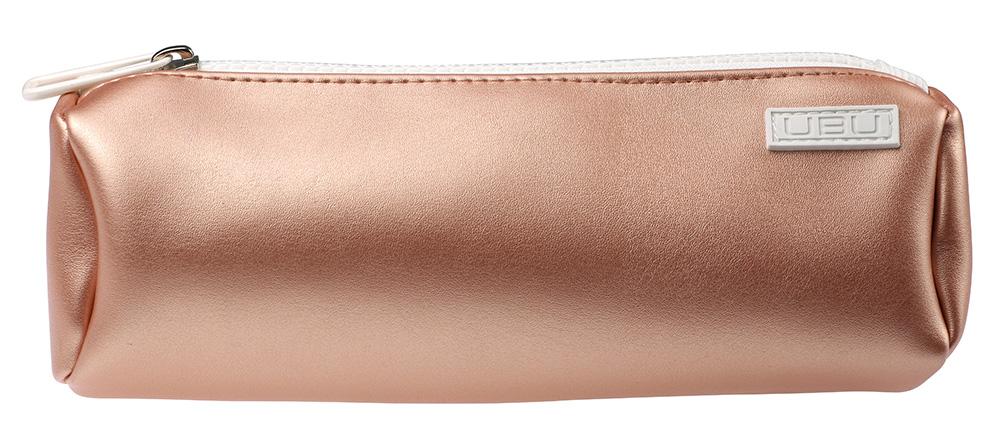 UBU Косметичка, цвет: персиковыйINT-06501Стильная косметичка удобная для кистей, карандашей и туши.