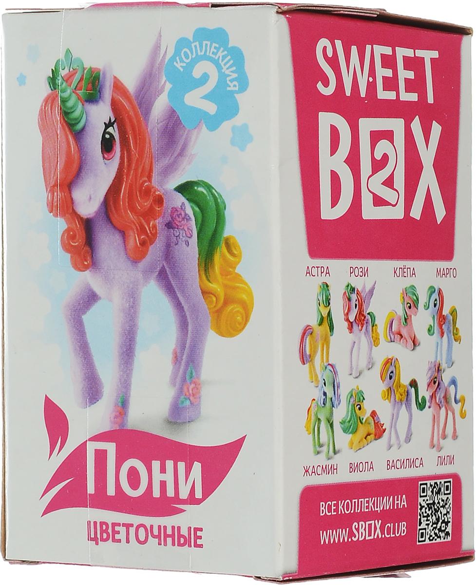 SweetBox Пони на ладони-2 мармелад с игрушкой в коробочке, 10 г01207108 загадочных поняшек! У каждой пони свой удивительный домик.