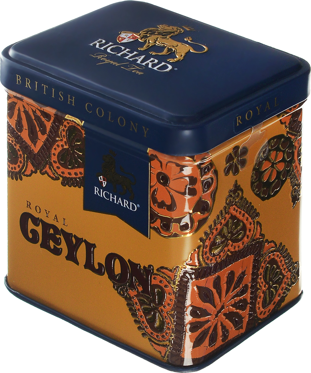 Richard British Colony Royal Ceylon черный листовой чай, 50 г100133