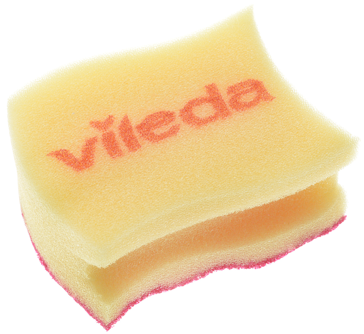 Губка для мытья посуды Vileda Pure Colors, цвет: желтый, бордовый, 9,5 х 6,2 х 4,7 см529037_желтый, бордовыйГубка для мытья посуды Vileda Pure Colors предназначена для очистки деликатных поверхностей. Удаляет даже трудные загрязнения, не царапая поверхность. Удобна в использовании за счет специальных пазов для пальцев. Губка с ярким дизайном станет украшением любой кухни и порадует хозяйку.Размер губки: 9,5 х 6,2 х 4,7 см.