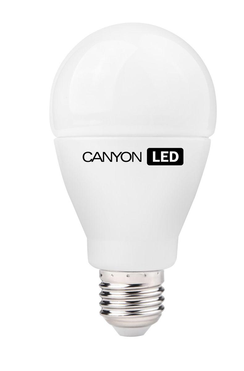 Набор светодиодных ламп Canyon LED AE27FR15W230VW, 10 шт.C0042416CANYON LED A70 E27 15W 220V 2700K, набор 10шт.Лампочка традиционной формы, излучает мягкий рассеянный свет. Имеет уникальный LED модуль COB ICE CANYON, позволяющий избежать чрезмерного нагревания. Предназначена для установки в светильниках с патроном E27. Доступна с матовой колбой. Чрезвычайно низкое энергопотребление позволяет сэкономить до 90% энергии в сравнении с традиционными лампами накаливания